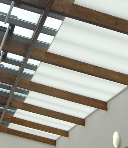 Pleated Blinds for Offices