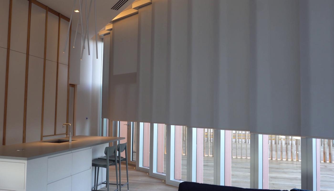manhattan-loft-gardens-blinds-partly-open